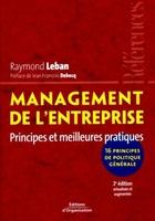 Raymond Leban - Management de l'entreprise