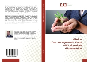 Mission d'accompagnement d'une ong: domaines d'intervention
