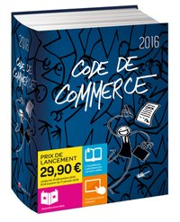 Code de commerce 2016 - Jaquette Elyx