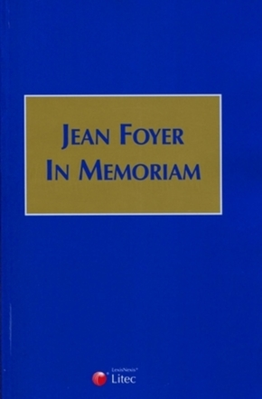 Jean Foyer - In Memoriam