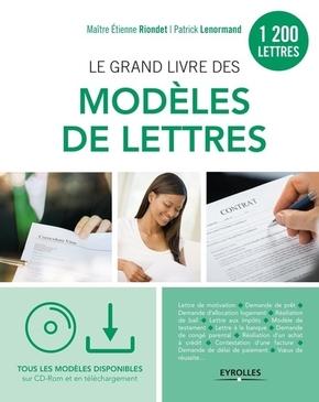 P.Lenormand, E.Riondet- Le grand livre des modèles de lettres
