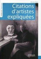 Michèle RESSI - Citations d'artistes expliquées