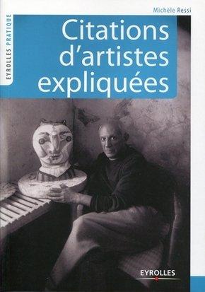 Michèle RESSI- Citations d'artistes expliquées