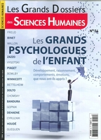 Sciences humaines gd n 54 - les grands psychologues de l'enfant - mars/avril/mai 2018