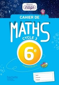 Cahier de maths 6e