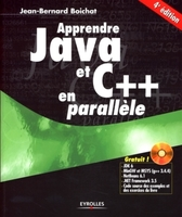 Jean-Bernard Boichat - Apprendre java et c++ en parallele. avec cd-rom