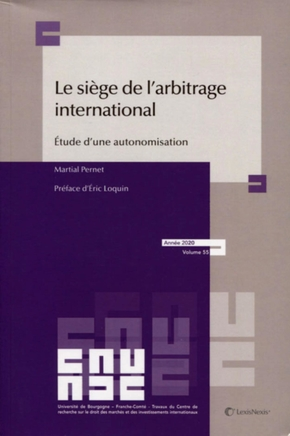 Le siège de l'arbitrage international