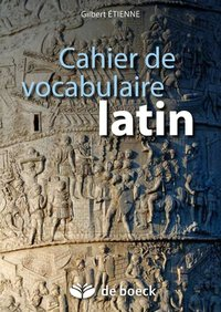 Cahier de vocabulaire latin