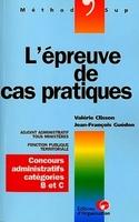 V.Clisson, J.-F.Guédon - L'épreuve de cas pratiques