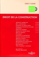 Droit de la construction - 2007 / 2008