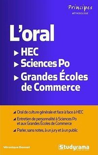 L'oral hec / sciences po / grandes écoles de commerce
