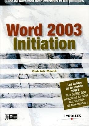 Patrick Morié- Word 2003 initiation
