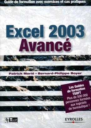 Patrick Morié, Bernard-Philippe Boyer- Excel 2003 avancé