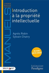 Introduction à la propriété intellectuelle - 2019/2020