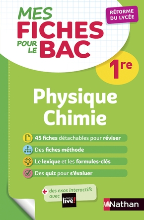 Physique-chimie - 1re - 2019