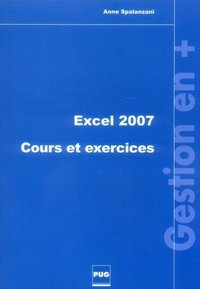 Excel 2007 - Cours et exercices