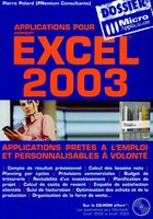 Applications pour Microsoft Excel 2003