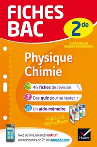 Physique Chimie - Seconde