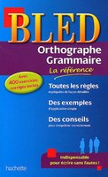 Bled Orthographe-Grammaire