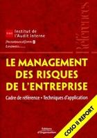 IFACI, PriceWaterhouseCoopers, Landwell - Le management des risques de l'entreprise