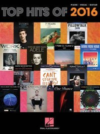 Top hits of 2016 piano, voix, guitare