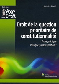 Droit de la question prioritaire de constitutionnalité