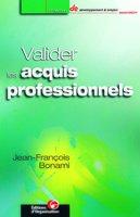 Jean-Francois Bonami - Valider les acquis professionnels