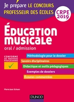 Education musicale - Oral, admission - CRPE 2019