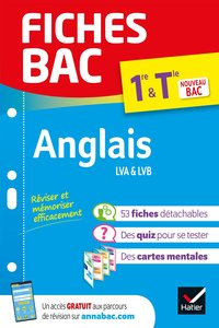 Fiches bac - Anglais 1re/Terminale