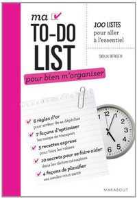 Ma to-do list pour bien m'organiser