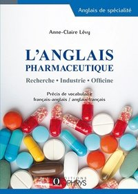 L'anglais pharmaceutique