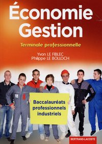 Economie-gestion term bac pro industriel
