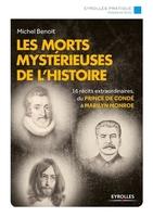 Michel Benoit - Les morts mystérieuses de l'histoire