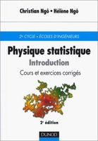 Physique statistique. Introduction