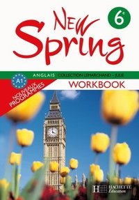 New Spring - Anglais 6e - Workbook