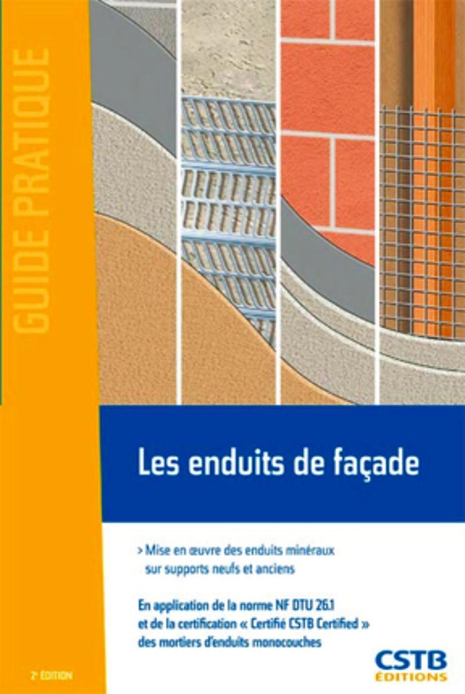 Pose Enduit De Facade Monocouche les enduits de façade - b. ruot - 2ème édition - librairie eyrolles