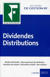 Dividendes - Distributions - 2013