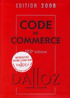 Code de commerce - 2008