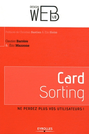 Gautier Barrère, Éric Mazzone- Card sorting