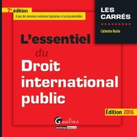 L'essentiel du droit international public - 2016