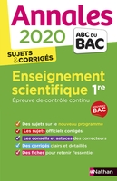 Enseignement scientifique - 1re - 2020