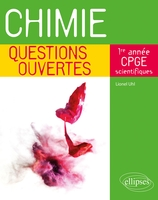 Chimie - questions ouvertes - 1re annee de cpge scientifiques