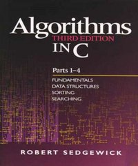 Algorithms in C: Parts 1-4