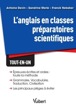 L Anglais En Classes Preparatoires Scientifiques Librairie Eyrolles