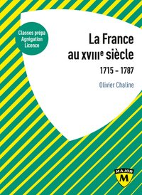 La france au xviiie siecle