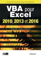 D.-J.David - VBA pour Excel 2010, 2013 et 2016