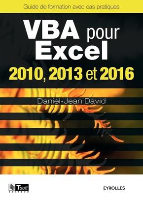 D.-J.David- VBA pour Excel 2010, 2013 et 2016