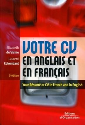 Elisabeth de Visme, Laurent Colombant- Votre cv en anglais et en français