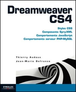 Thierry Audoux, Jean-Marie Defrance- Dreamweaver cs4