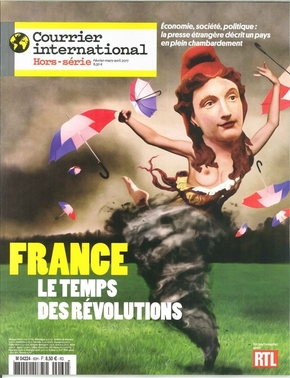 Courrier international n 60 france le temps des revolutions fevrier 2017